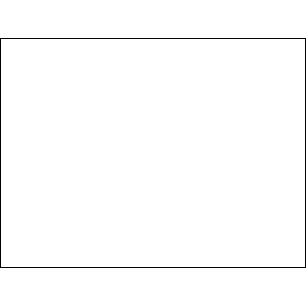 "5 x 7"" White Inventory Rectangle Labels"